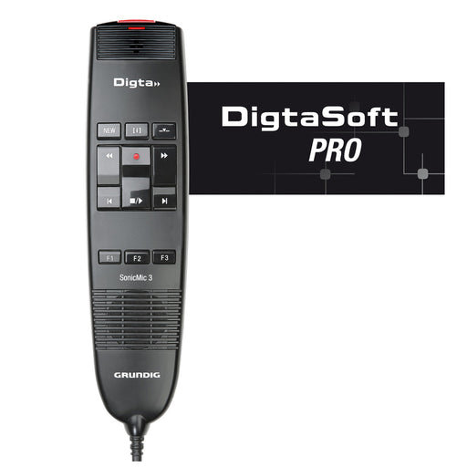 Grundig Digta SonicMic 3 Classic with DigtaSoft Pro Software - The Speech Shop
