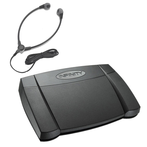 Infinity USB Foot Control & SH-55 USB Headset - Speak-IT Solutions LTD