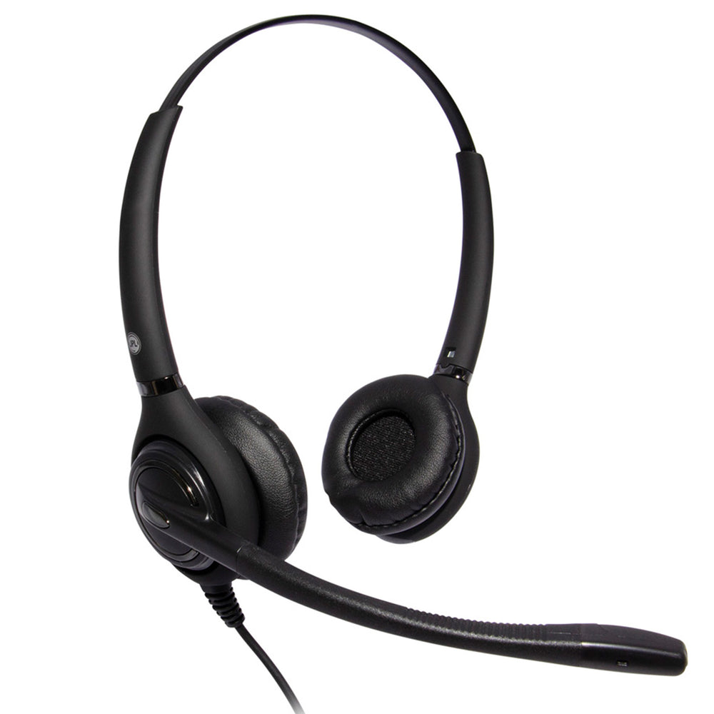 JPL 502S USB Dual Ear Noise Cancelling Headset - Speak-IT Solutions LTD