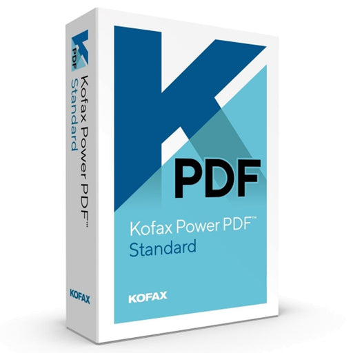 Kofax Power PDF 3 Standard (English Box) - Speak-IT Solutions LTD