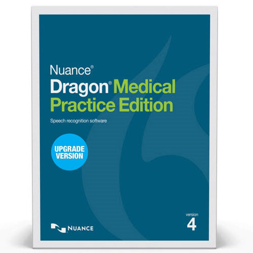 Dragon Medical Practice Edition 4 (DMPE V4) Upgrade License - Speak-IT Solutions LTD