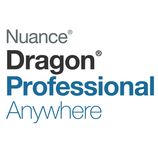 Nuance Dragon Professional Anywhere (12 Month User Subscription) - Speak-IT Solutions LTD