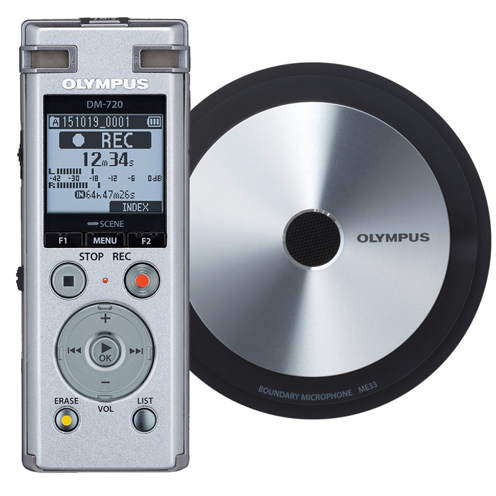 Olympus DM-720 Meet and Record Kit Small Edition - Speak-IT Solutions LTD