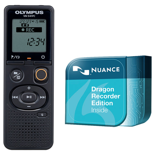 Olympus VN-541PC 4GB with Dragon Naturally Speaking