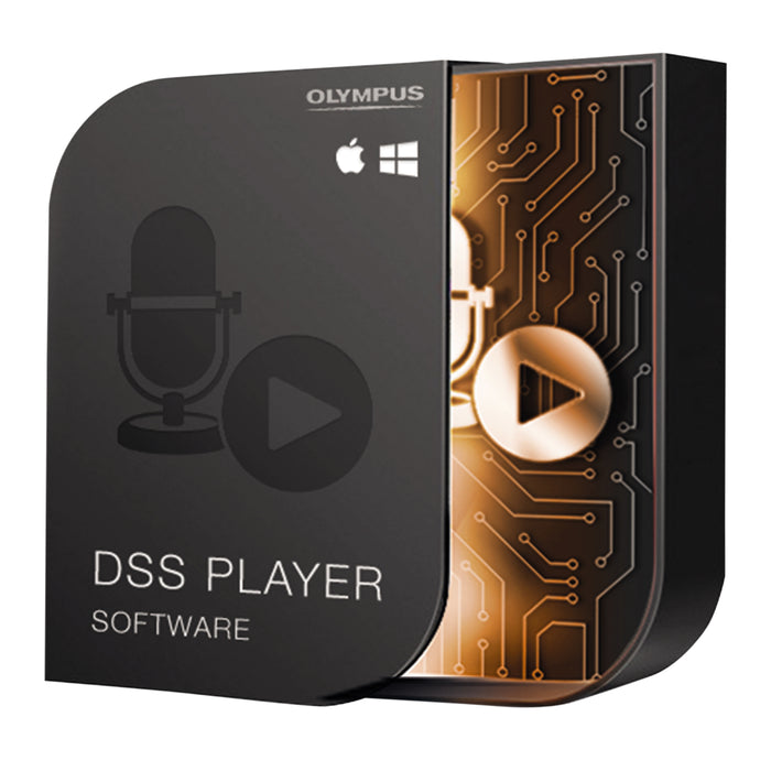 Olympus AS-49 DSS Player Standard (Dictation Module) - The Speech Shop