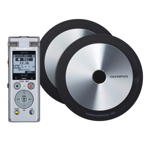 Olympus DM-720 Meet and Record Kit Large Edition - Speak-IT Solutions LTD
