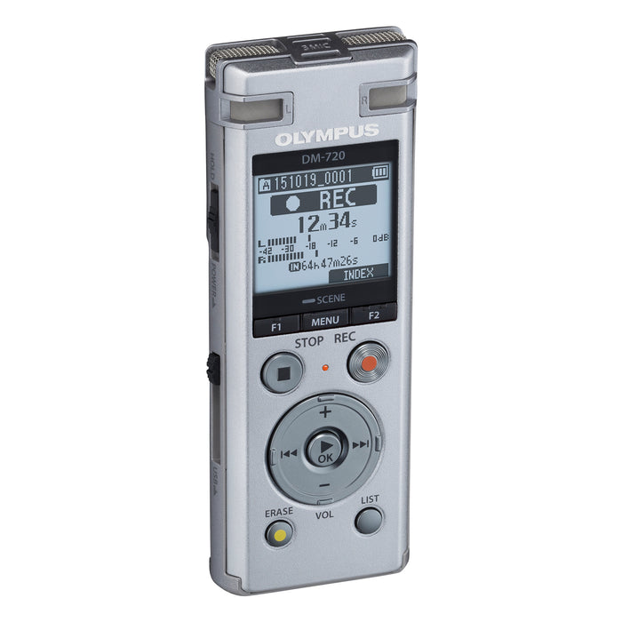 Olympus DM-720 Voice Recorder with Olympus AS-2400 Transcription Kit - Speak-IT Solutions LTD