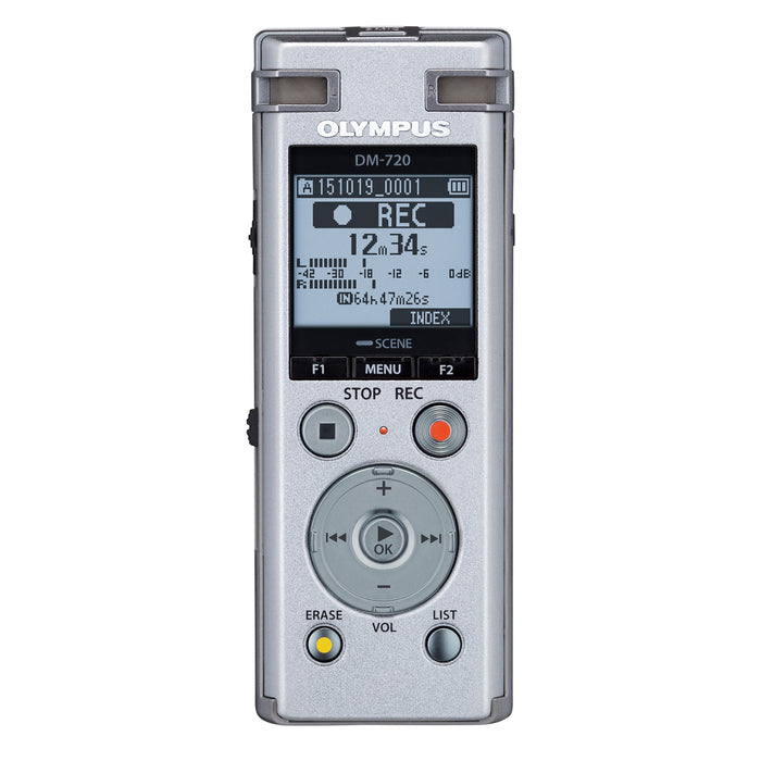 Olympus DM-720 Digital Voice Recorder - The Speech Shop