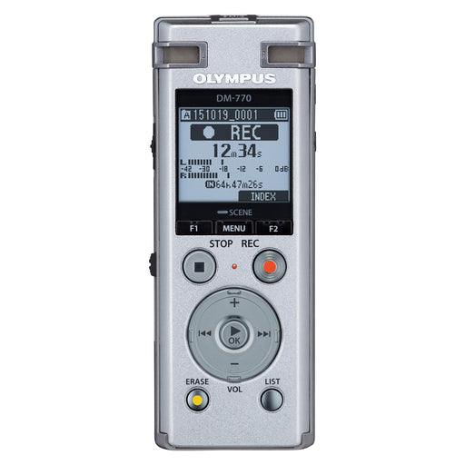 Olympus DM-770 Assistive Digital Voice Recorder - Speak-IT Solutions LTD