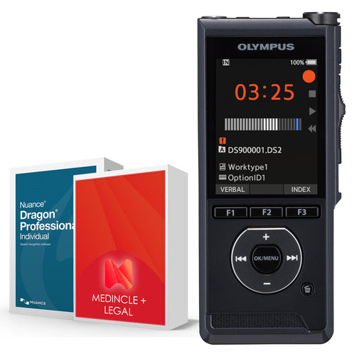 Olympus DS-9000 Premium Legal Speech Recognition Bundle - Speak-IT Solutions LTD
