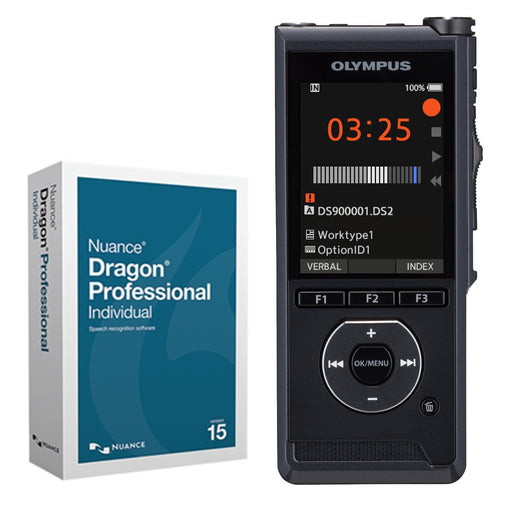 Olympus DS-9000 Premium Kit with Dragon 15 Individual - Speak-IT Solutions LTD