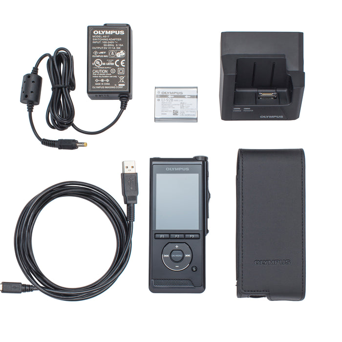 Olympus DS-9500 & AS-9000 Starter Kit (incl. ODMS R7) - The Speech Shop