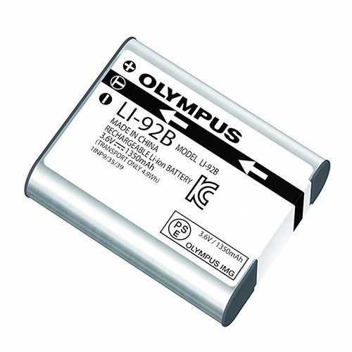 Olympus Li-92B Rechargeable Lithium Battery (for use with the DS-9000/9500) - The Speech Shop