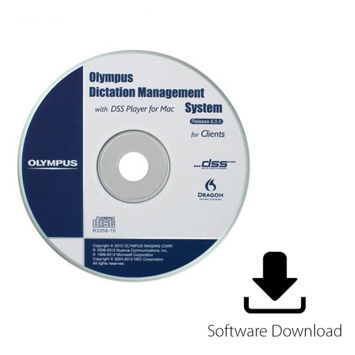 Olympus ODMS R6 Software (Single License for Dictation Module) - The Speech Shop