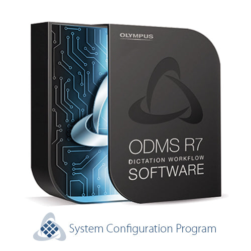 Olympus AS-9005 ODMS R7 SCP Software (System Configuration Program) - The Speech Shop