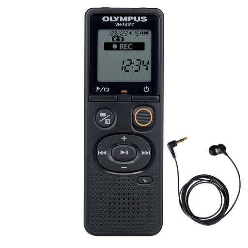 Olympus VN-541PC 4GB with Olympus TP-8 Telephone Pick-up - The Speech Shop