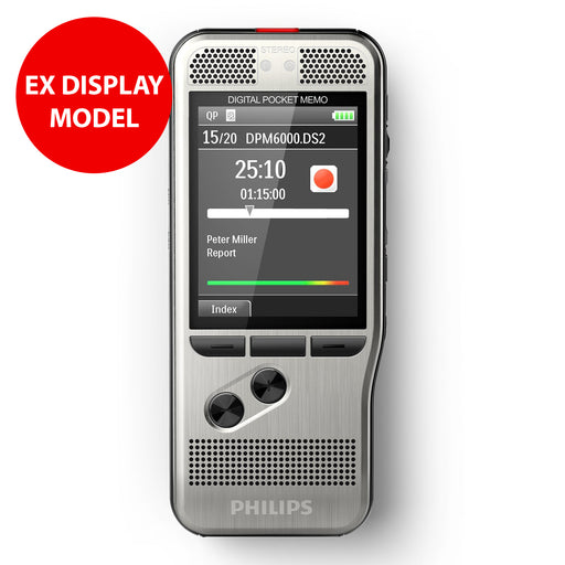 Philips DPM6000 Digital PocketMemo (No Box, No Software)