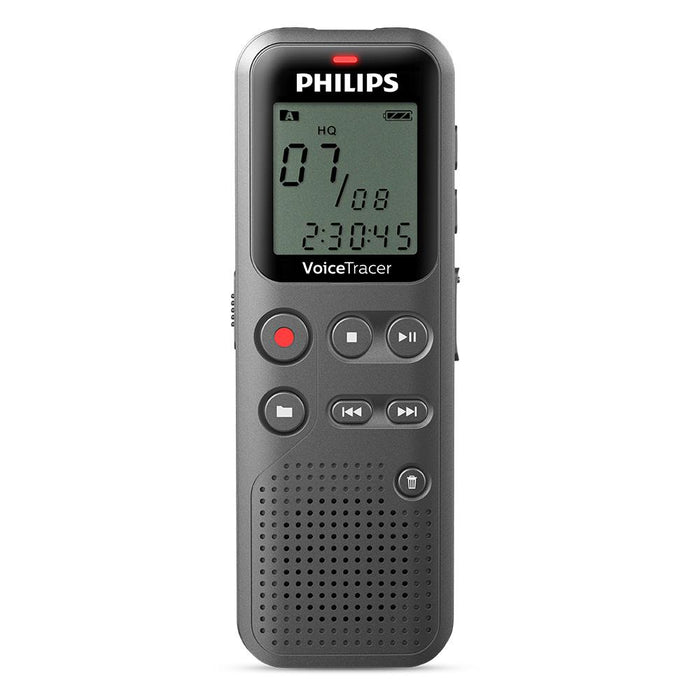 Philips DVT1110 Digital Voice Tracer with TP-8 Telephone Pickup - Speak-IT Solutions LTD