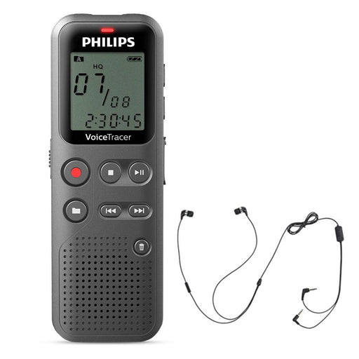 Philips DVT1110 Digital Voice Tracer with Speak-IT Smartphone & iPhone Recording Adapter - Speak-IT Solutions LTD