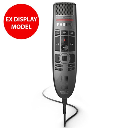 Philips SMP3700/00 SpeechMike Premium Touch Dictation Microphone (Ex Display Model, No Box)