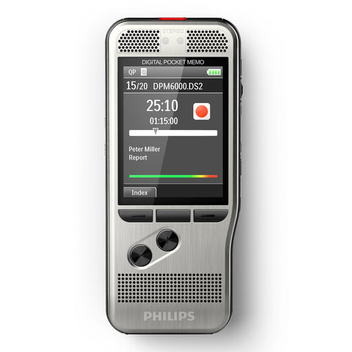 Philips DPM6000 Digital PocketMemo with SpeechExec Standard - Speak-IT Solutions LTD