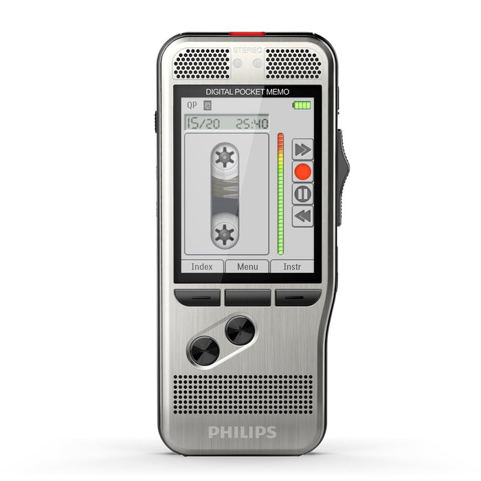 Philips DPM7700/03 Pocket Memo Starter-Set with SpeechExec V11 - 2 Year License - Speak-IT Solutions LTD