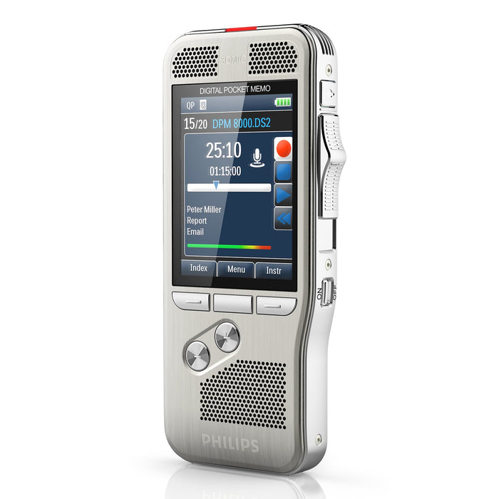 Philips DPM8100 Digital PocketMemo - Speak-IT Solutions LTD
