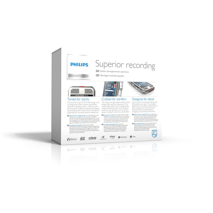 Philips DPM8000/02 Starter Kit with SpeechExec Pro V11 - 2 Year License - Speak-IT Solutions LTD