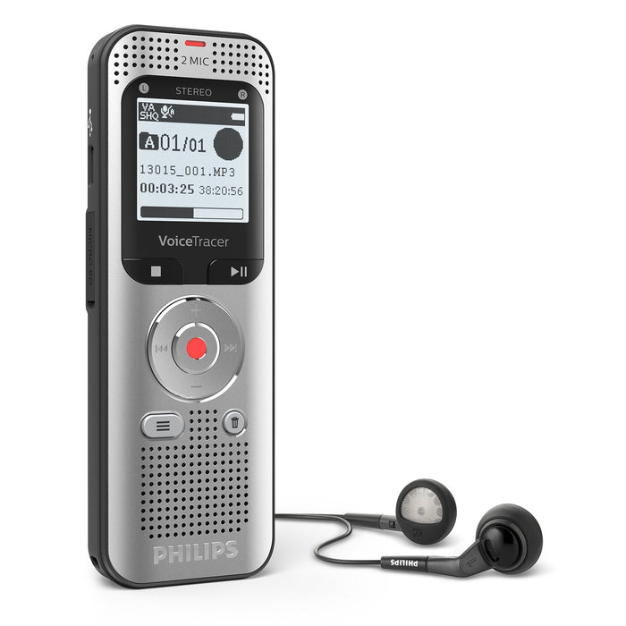 Philips DVT2050 Digital VoiceTracer - Speak-IT Solutions LTD