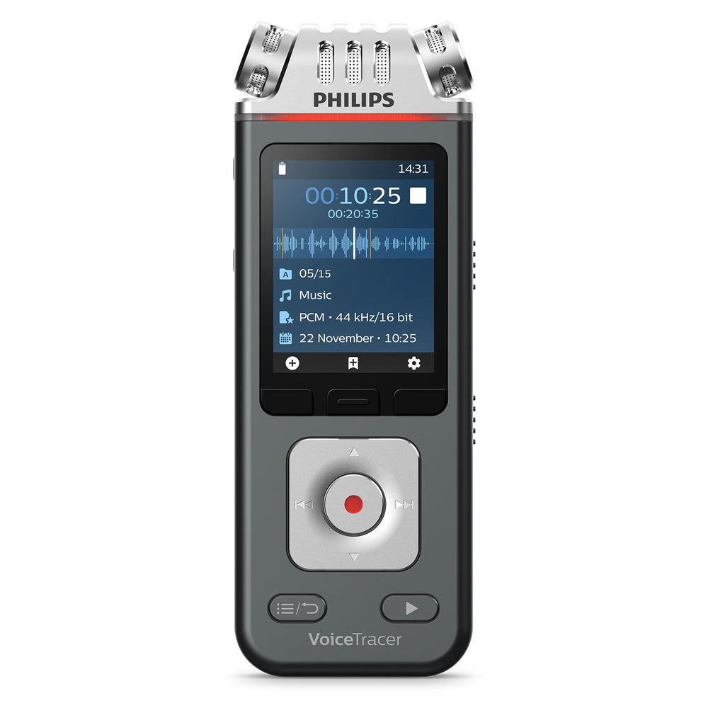 Philips DVT6110 VoiceTracer Music Recorder - Speak-IT Solutions LTD