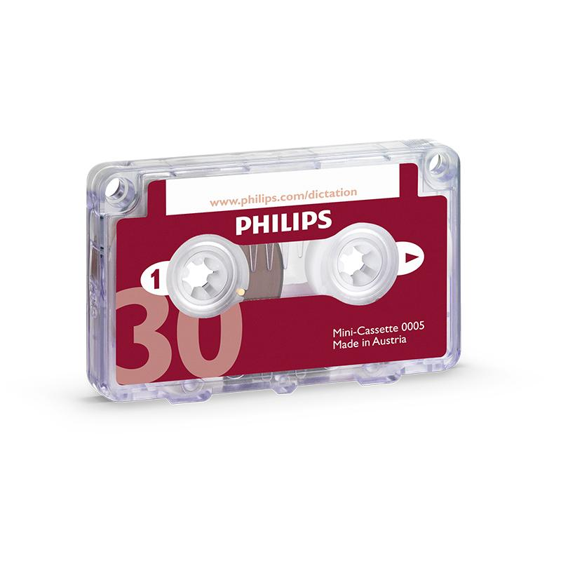 Philips LFH0005 Mini-Cassette - Speak-IT Solutions LTD