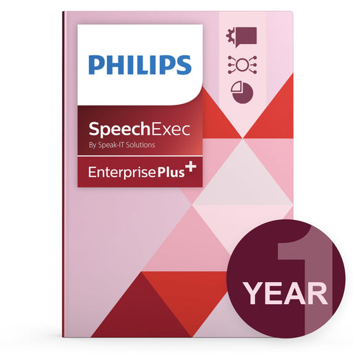 Philips LFH7351/00 SpeechExec Enterprise - Concurrent User License Plus (1 Year) - Speak-IT Solutions LTD