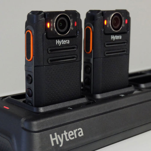 Hytera MCL30 Body Worn Camera VM780 Six way Multi Charger - Speak-IT Solutions LTD