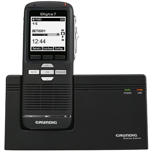 Grundig Digta 7 Premium Integrator Set - Speak-IT Solutions LTD