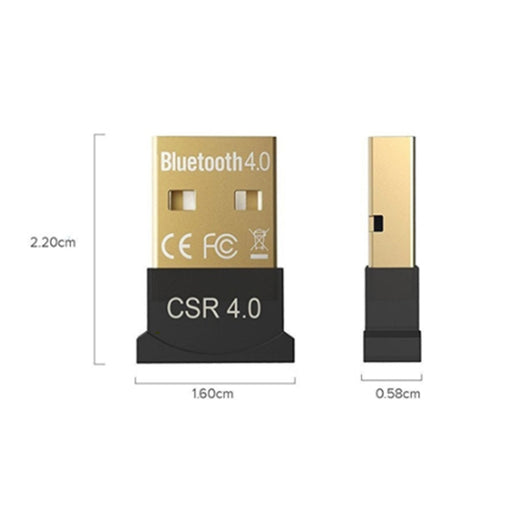 Wireless Bluetooth USB CSR 4.0 Dongle - Speak-IT Solutions LTD