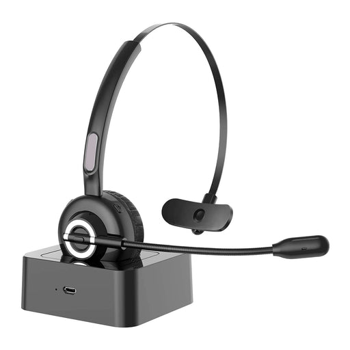 Speak-IT Premier Bluetooth Monaural Headset with Noise-cancelling Microphone