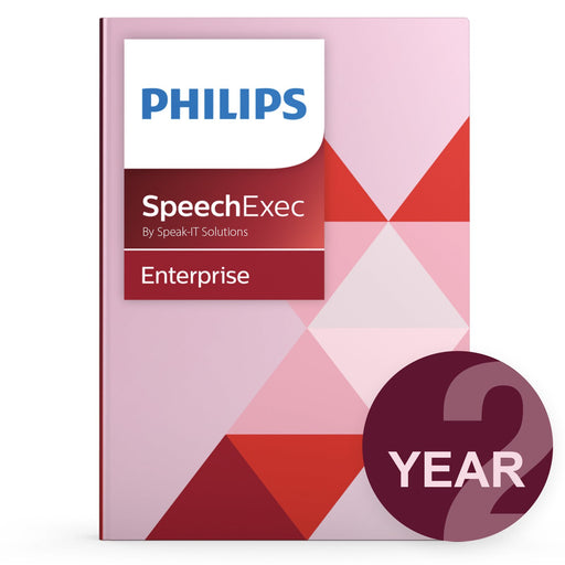Philips LFH7352/00 SpeechExec Enterprise - Concurrent User License (2 Year) - Speak-IT Solutions LTD