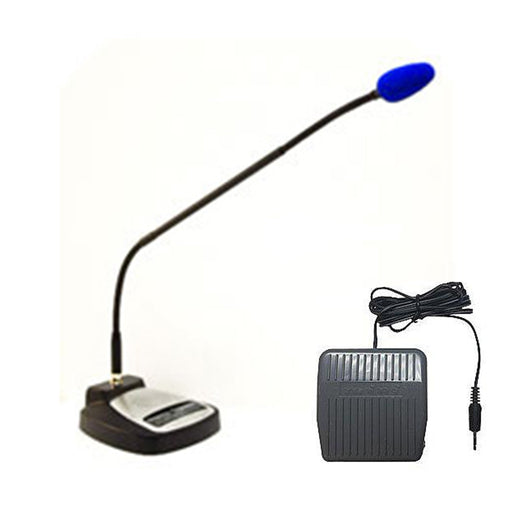 SpeechWare TableMike 6-in-1 USB Microphone with 53cm Microphone Boom Arm and Foot Control