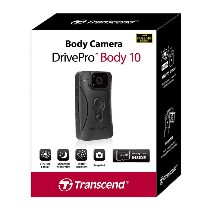 Transcend DrivePro 10B Body Camera 32GB