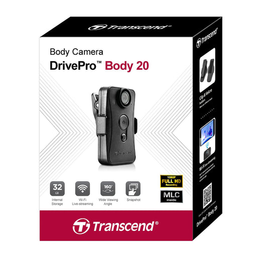 Transcend DrivePro 20 Body Camera 32GB