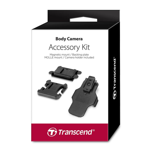 Transcend TS-DBK2 Body Camera Accessory Kit with Magentic & MOLLE Mounts