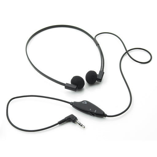 3.5mm Stereo/Mono Switchable 5ft Lead Headset - Speak-IT Solutions LTD
