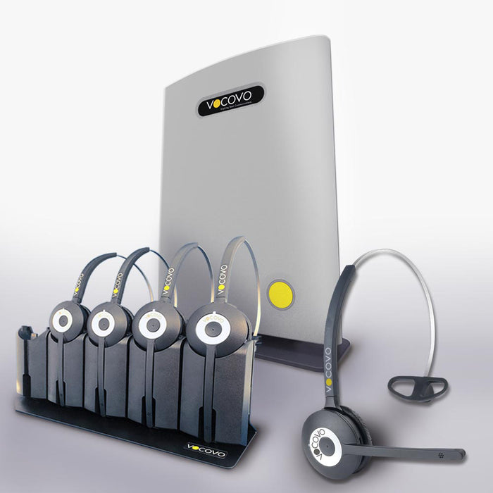 VoCoVo Go Starter Pack with 10 Headsets - Speak-IT Solutions LTD