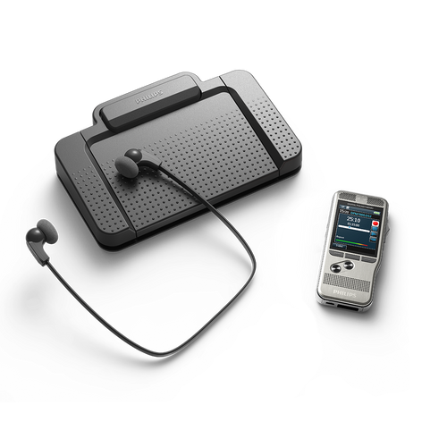 SpeechLive compatible with Philips Dictation and Transcription Hardware