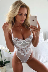 White Every Kind Of Way Bodysuit