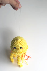 Pinky Jellyfish Plush, Hanging Jellyfish Doll