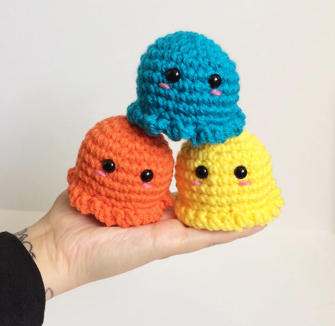 SALE! Mini Octopus Plushie, Made To Order