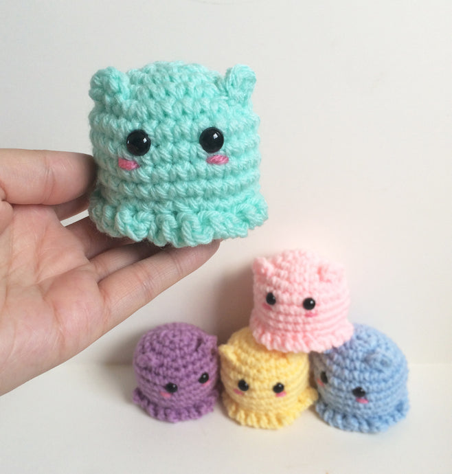 SALE! Mini Flapjack Octopus Plushie, Made To Order