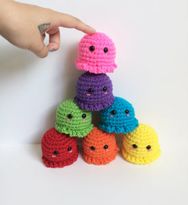 Mini Octopus Plushie, Made To Order
