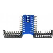 Load image into Gallery viewer, Jubilee Screwdriver Bit set + Quick Release Adaptor 33pc
